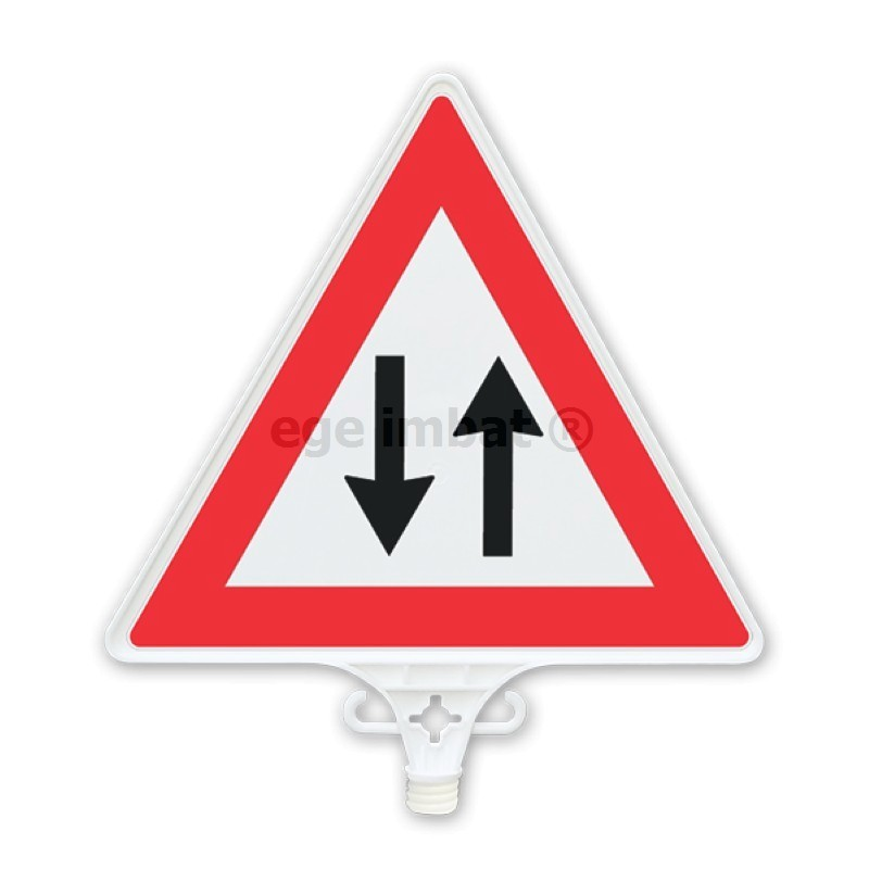 Highway Signs, Signals, and Markings - Drivers Education ... |Two Way Traffic Ahead Sign