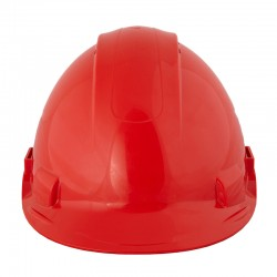 BBU Safety CNG-500 Safety Helmet Red