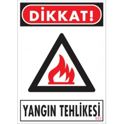 Dikkat Yangın Tehlikesi
