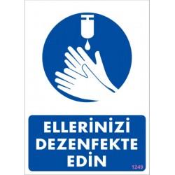 Ellerinizi Dezenfekte Edin