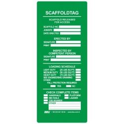 İskele Güvenlik Etiketi
