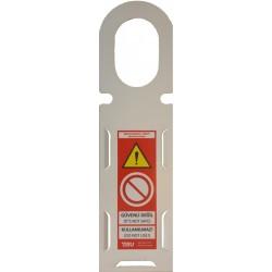 İskele Güvenlik Etiketi Taşıyıcısı Metal