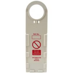 İskele Güvenlik Etiketi Taşıyıcısı ABS