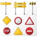 Trafik Uyarı ve Reklam Levhaları